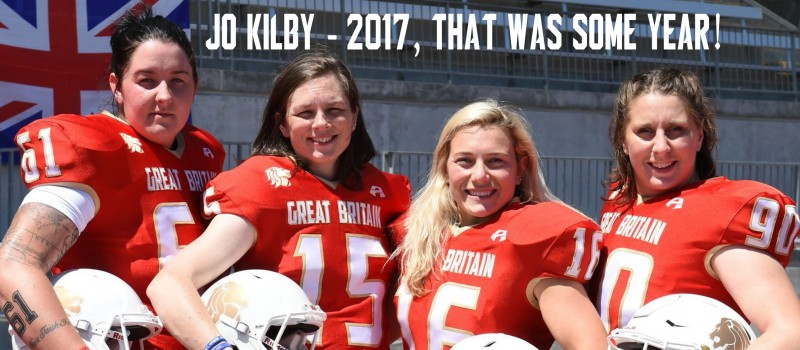 Jo Kilby had a 2017 to remember